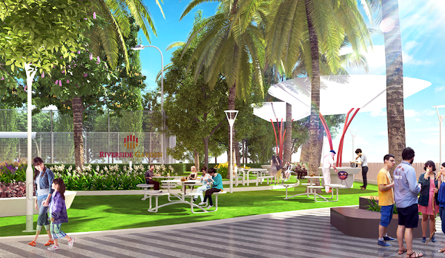 Cộng đồng dân cư văn minh tại dự án Riverside Garden
