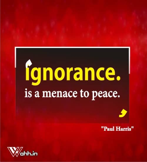Paul-Harris-quotes-on-ignorance