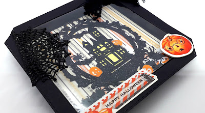Halloween crafts, Positivelypapercraft, Shaker cards,