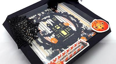 Halloween crafts, Positivelypapercraft, Shaker cards,