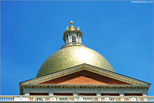 Cúpula del Massachusetts State House, Boston