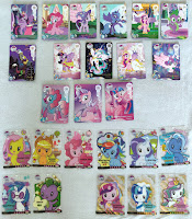Kayou My Little Pony Trading Cards Rare Card Pulls