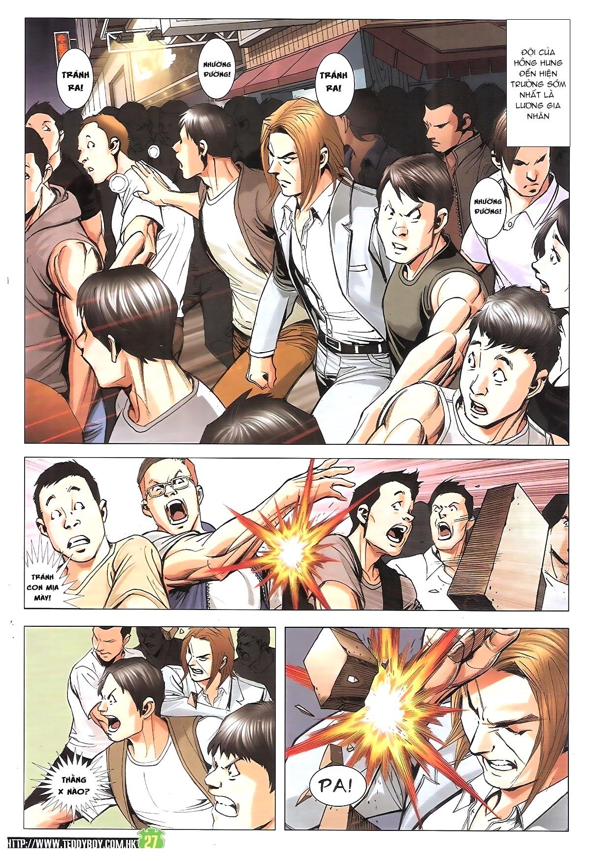 Người Trong Giang Hồ chapter 1912: đại náo lãng hào phường trang 26