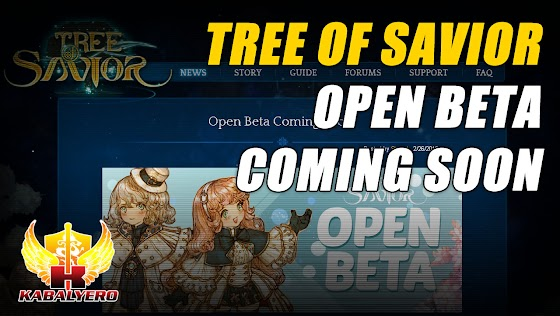 Tree Of Savior Open Beta Coming Soon