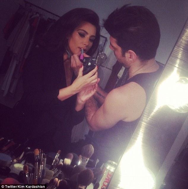Channelling my inner Sophia Loren': Kim Kardashian compares