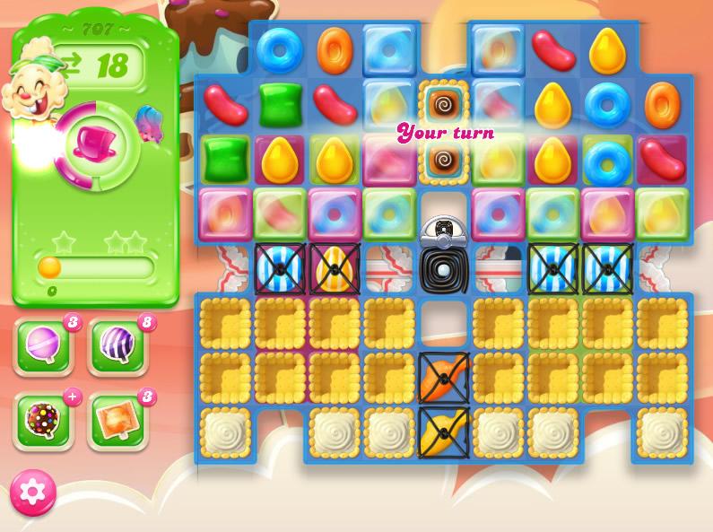 Candy Crush Jelly Saga level 707