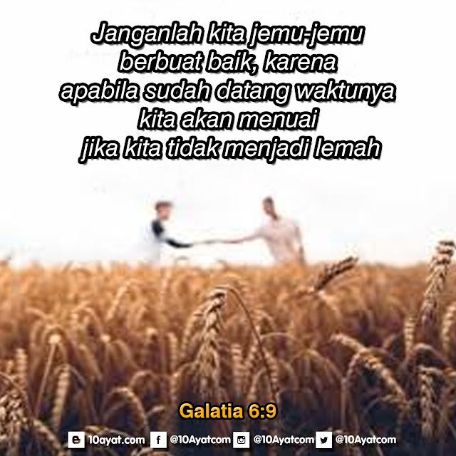 Galatia 6:9