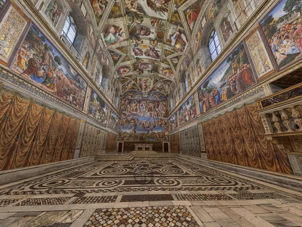 Museu Virtual do Vaticano - Capela Sistina