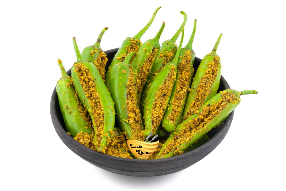 Bharwan Mirch Recipe in Hindi