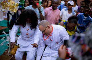 Another American flies down to Enugu to marry his love (Pictures)