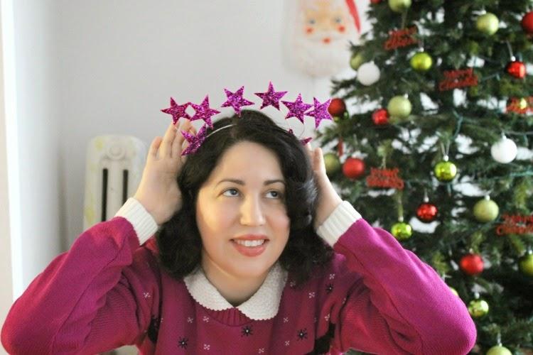 A Vintage Nerd, Vintage Blog, Vintage Christmas, Holiday Sweater