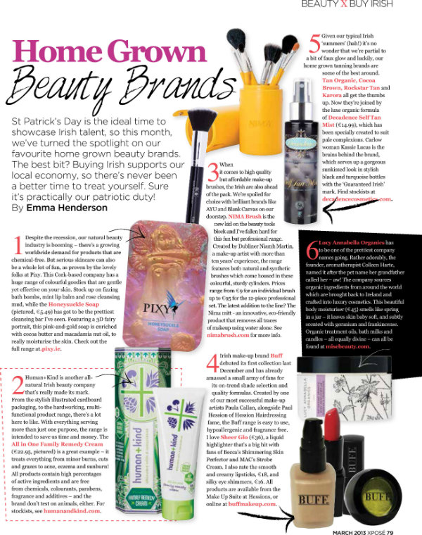 Emma Henderson article in Xpose Magazine