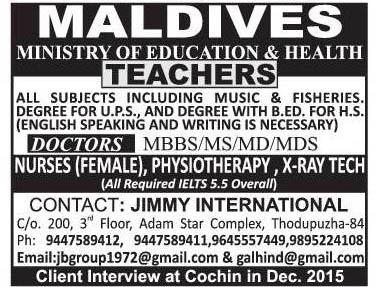 Gulf Jobs and Middle East Jobs: Teachers recruitment to