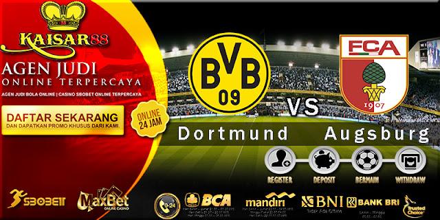 Borussia Bola Jitu Dortmund vs Augsburg 27 Februari 2018