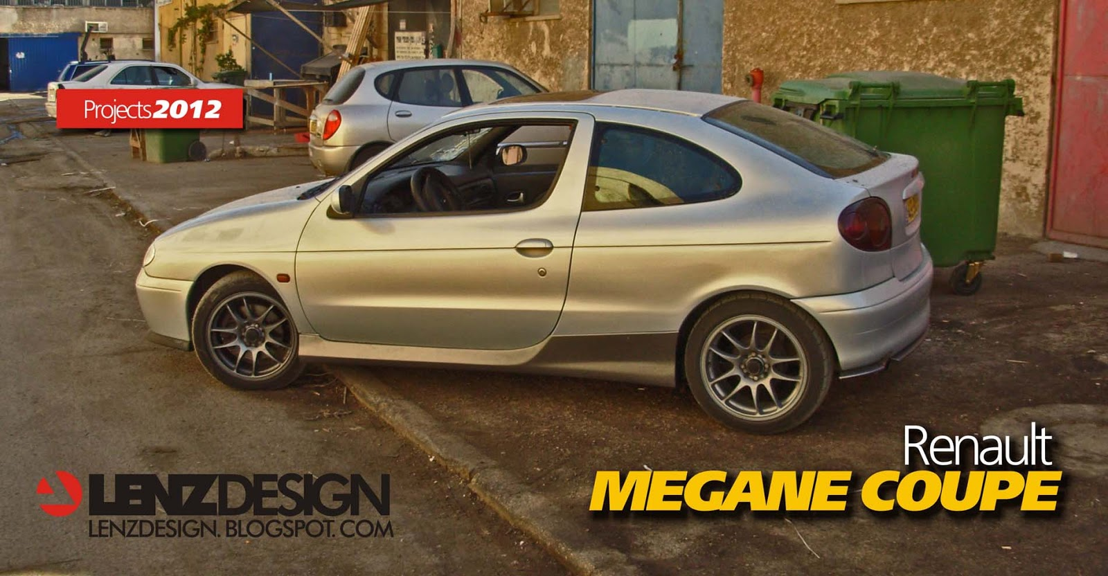 Renault Megane Coupe tuning by Lenzdesign