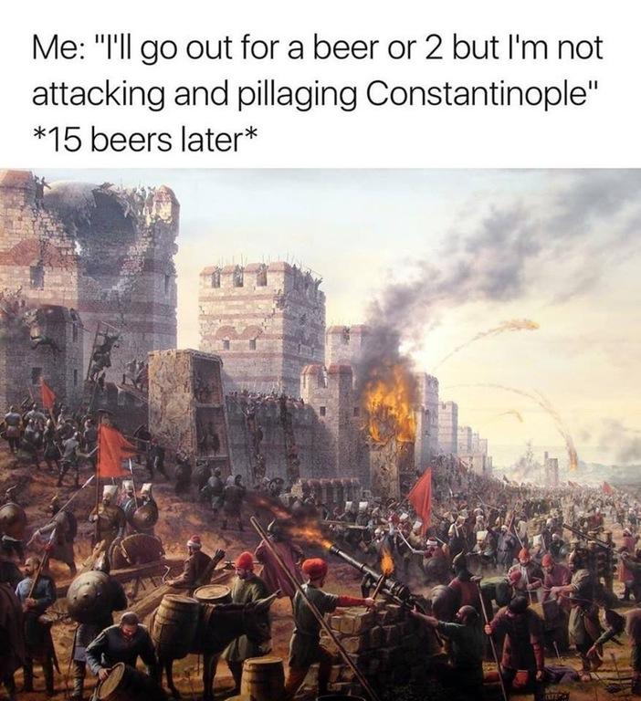 Pillaging Constantinople