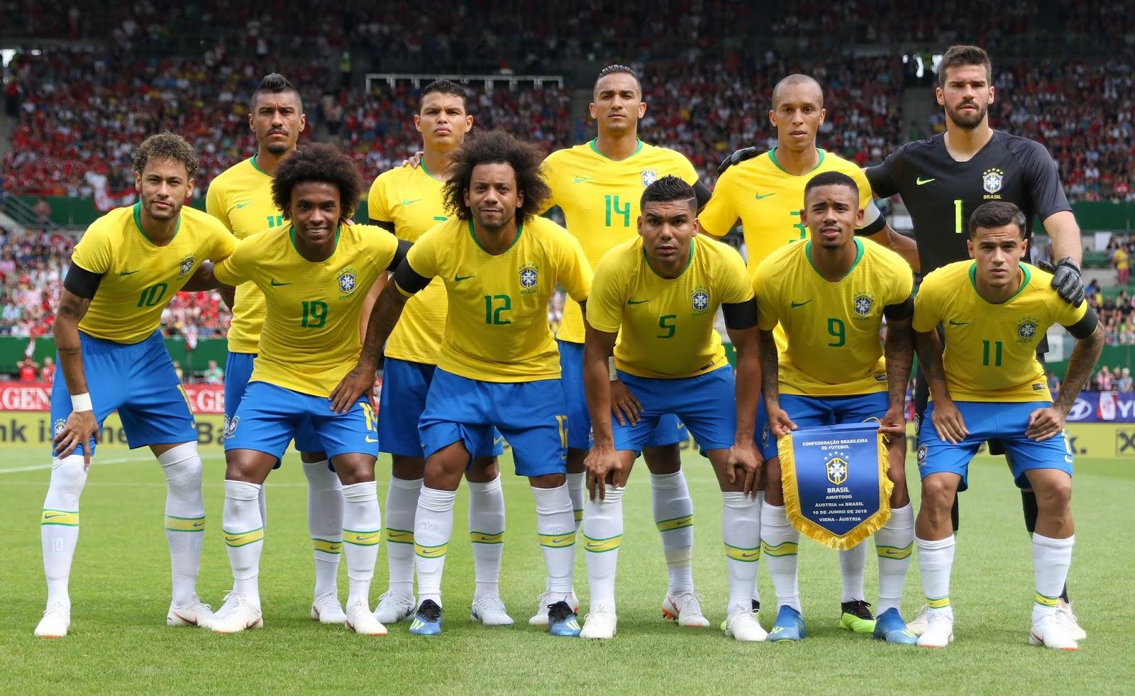 Resultado de imagem para Time do Brasil que enfrentou a Áustria