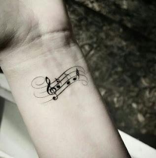 tatuaje notas
