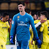 Alaves-Real Madrid 1-4: la gioia di Courtois su Twitter