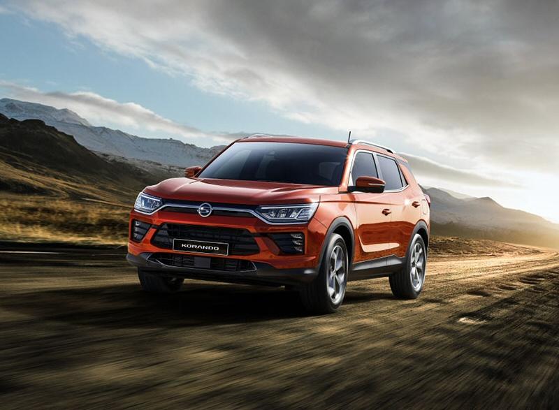 쌍용자동차, 엔트리 패밀리 SUV 코란도 터보 가솔린 모델 출시