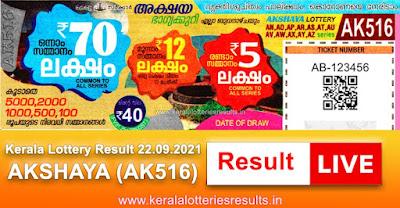 kerala-lottery-result-22-09-2021-akshaya-lottery-results-ak-516-keralalotteriesresults.in