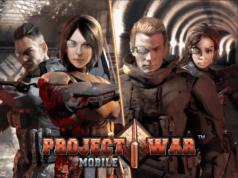 Project War Mobile مشروع الحرب للجوال -لعبة إثارة وتصويب على الإنترنت