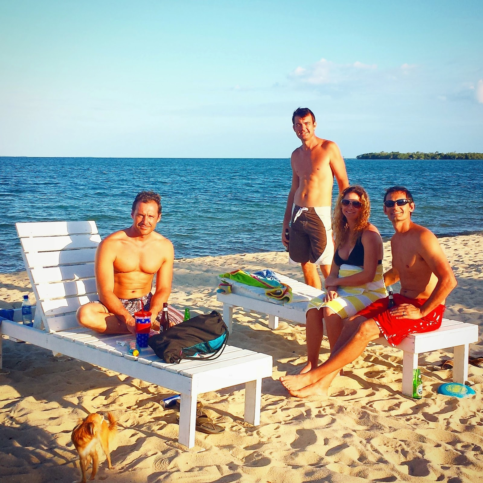 Belize Beaches: Pure Placencia: Guests Having Fun In Placencia, Belize