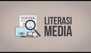 Literasi Media itu analisis dari beberapa sumber media yang di rangkum dan dipahami oleh otak kita dan menjadi berita Versi Kita