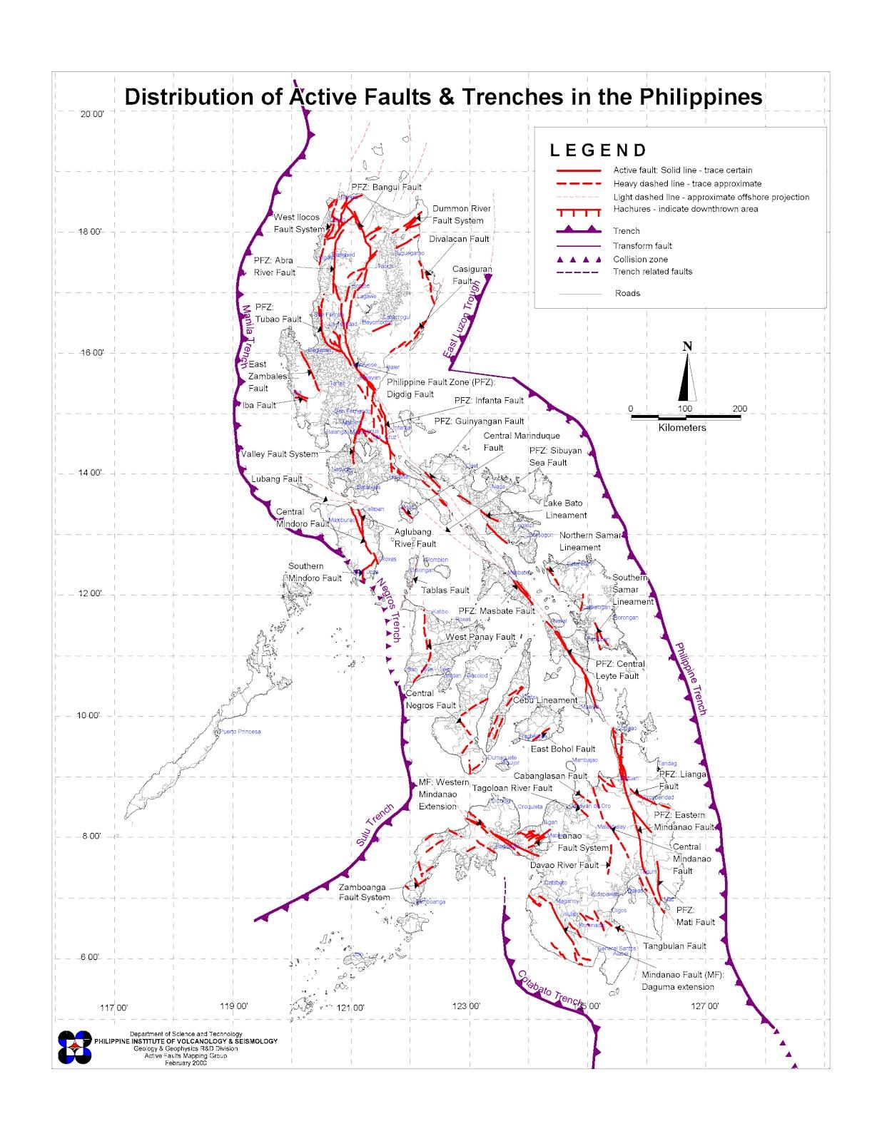 Simplement Geologie Seisme De Sulangan Philippines