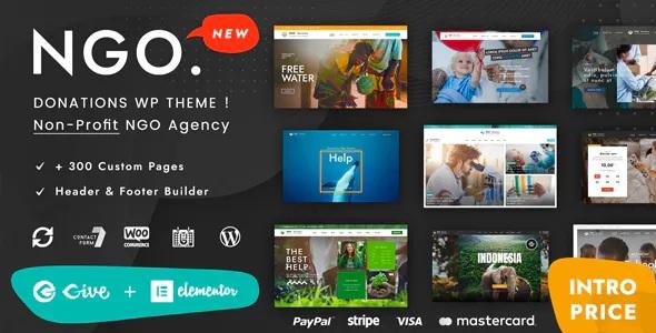 Ngo Charity & Donation WordPress Themes