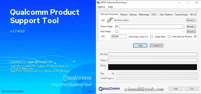 QPST Flash Tool Latest Version V2.7.480 Full Setup Free Download