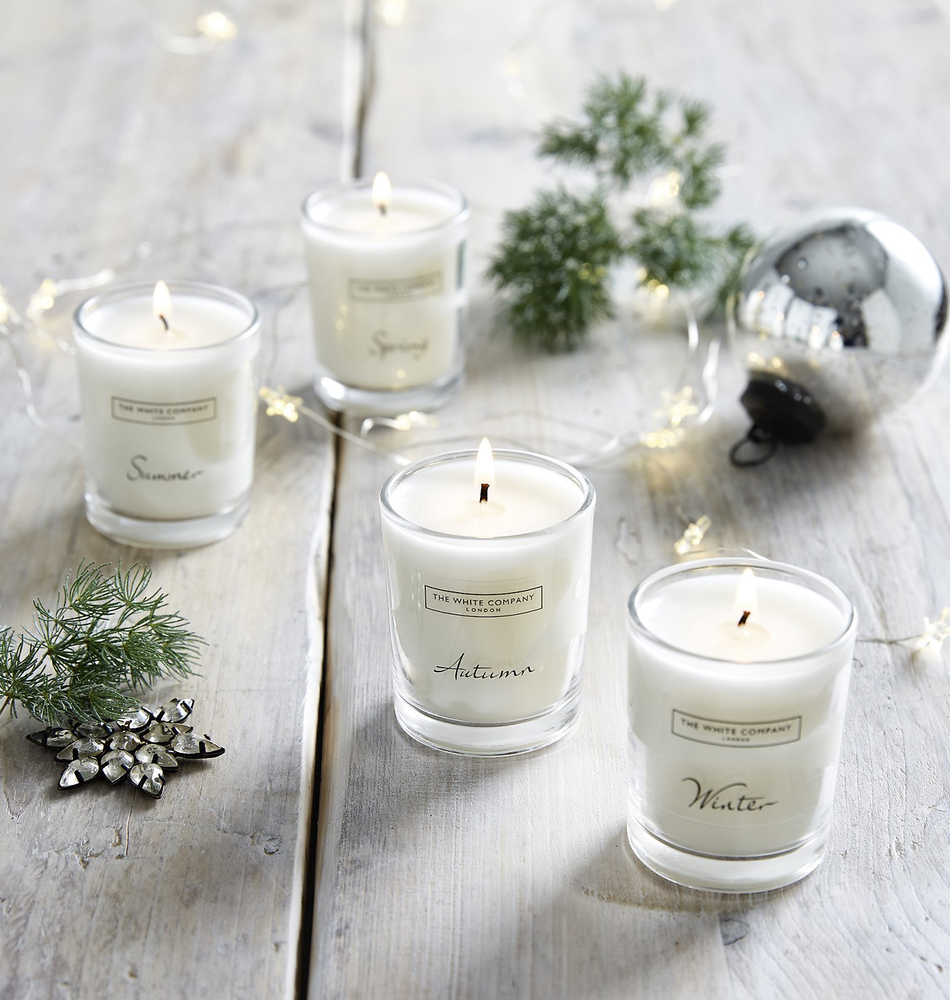 The White Company Four Season Candle Collection
