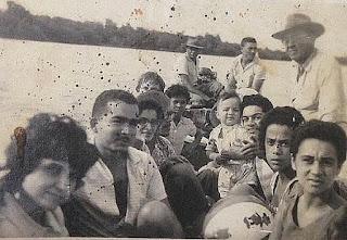 Foto Acervo família Pires  - matéria Mangue Seco - BLOG LUGARES DE MEMÓRIA