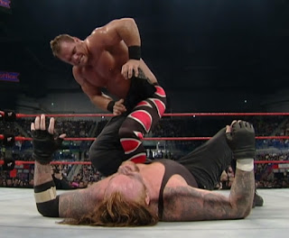 WWE / WWF Rebellion 2000 - Chris Benoit and The Undertaker faced off in their final ever singles match