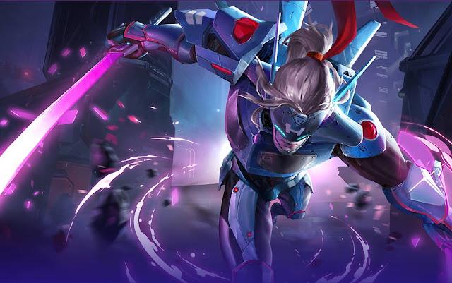 Saber Spacetime Swordmaster Heroes Assassin of Skins Mobile Legends Wallpaper HD for PC