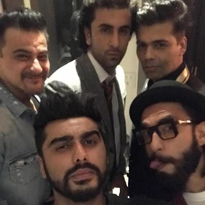 Arjun-Kapoor-Ranveer-Singh-Ranbir-Kapoor-Karan-Johar