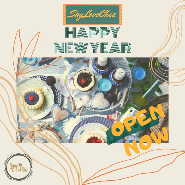 SayLoveChiz Happy New Year 2021