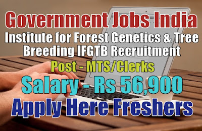 IFGTB Recruitment 2019