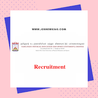 TNPESU Chennai Recruitment 2019 for Guest Lecturer (14 Vacancies)