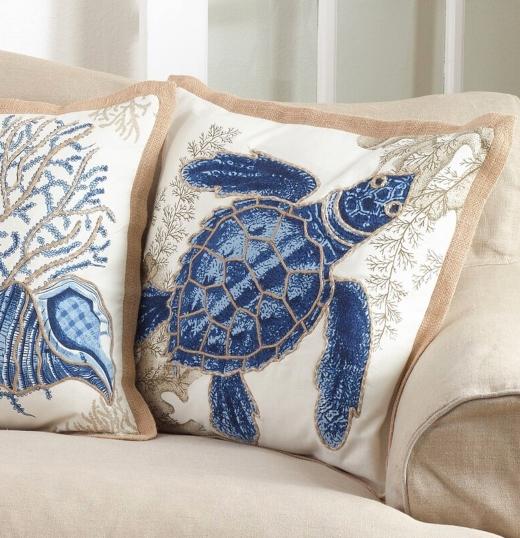Shop Coastal Beach Pillows Collections