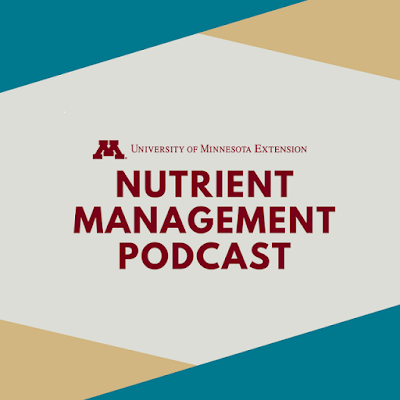 Nutrient management podcast icon.