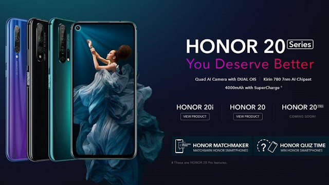 Honor 20 series launched in India: Details here