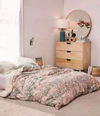 Desain Kamar Tidur Minimalis Tanpa Ranjang