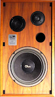 Ohm C2 vintage bookshelf speaker