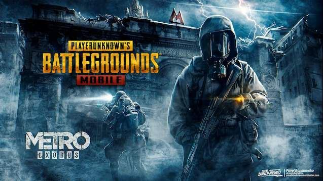 PUBG Mobile - Battle Royale has been moved to Metro. Collaboration with Metro Exodus started