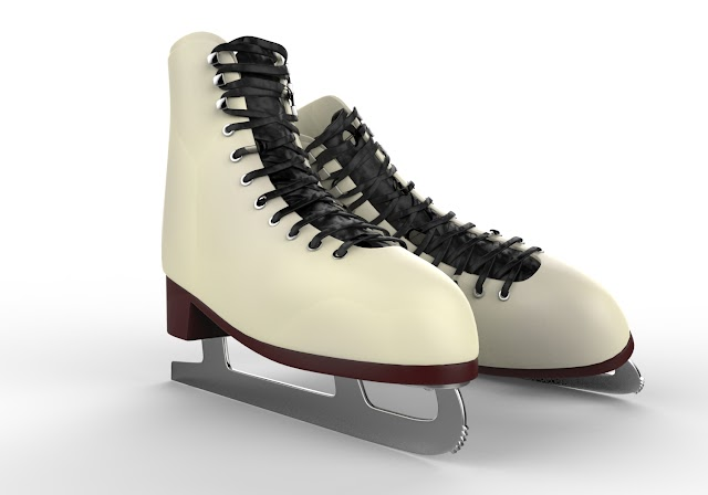skates shoes 3d model free download Maya,obj,low poly