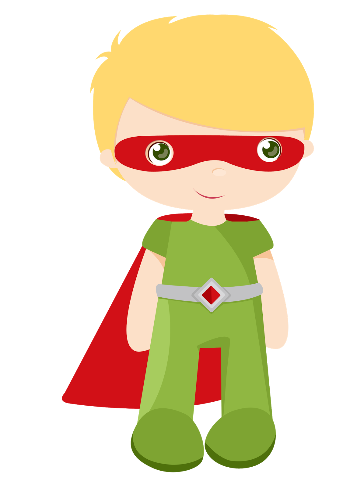 Kids dressed as Superheroes Clipart. - Oh My Fiesta! for Geeks