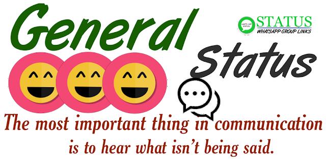 New General status सामान्य status | whatsapp status