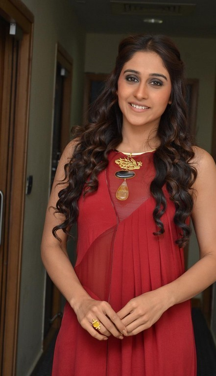 Regina Cassandra Latest Photoshoot In Maroon Color Dress