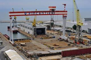 Fincantieri: nuovo accordo integrativo aziendale